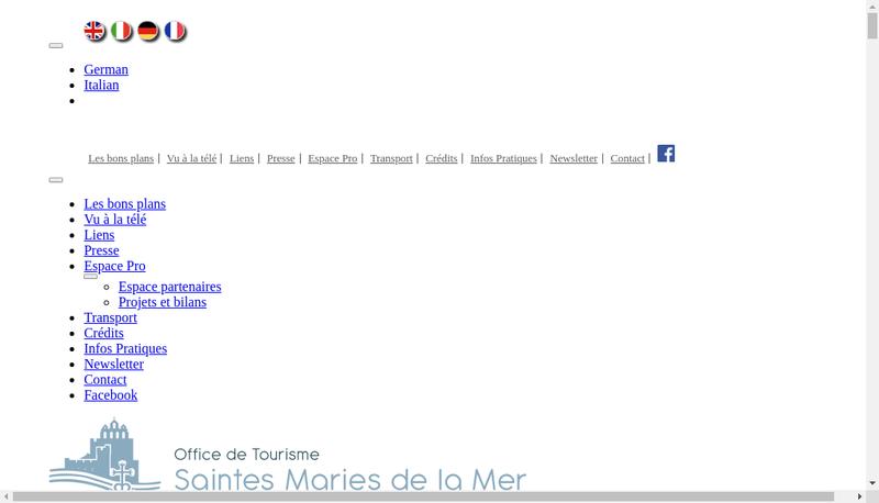 Capture d'écran du site de Lou Penequet
