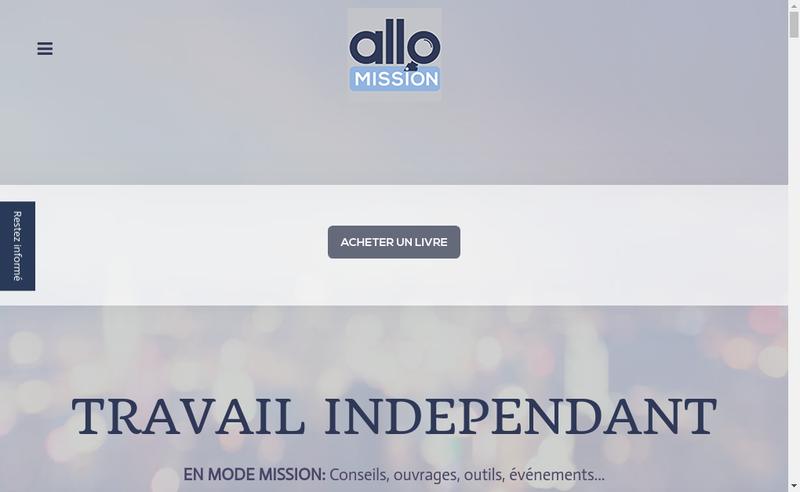 Capture d'écran du site de Allo Millsion, Allo Minute, Best Place To Freelance