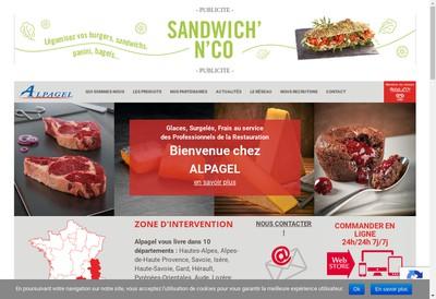 Site internet de Alpagel Languedoc