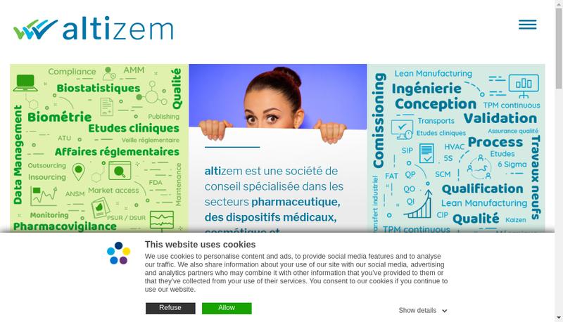 Capture d'écran du site de Still Care