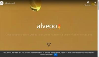 Site internet de Alveoo