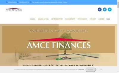 Site internet de Amce Finances