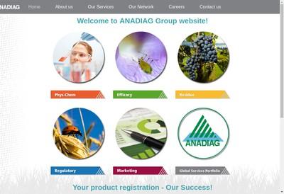 Site internet de Anadiag France