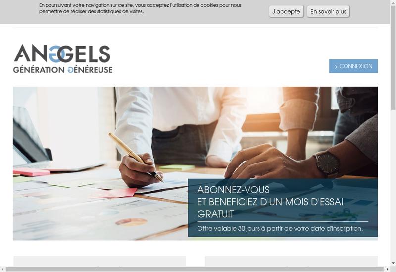Capture d'écran du site de Humanboost