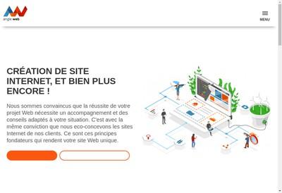 Site internet de Angle Web