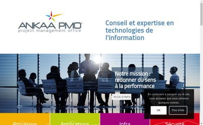 Site internet de Ankaa Corp