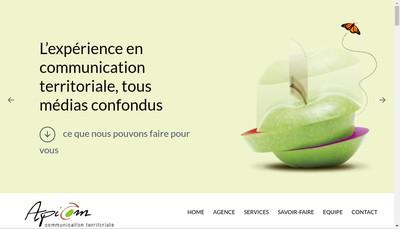 Site internet de Apicom