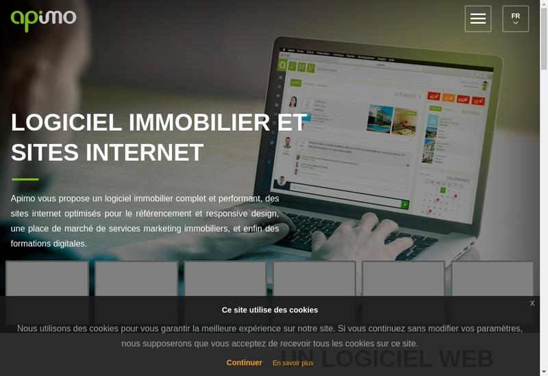 Capture d'écran du site de Profil et Patrimoine