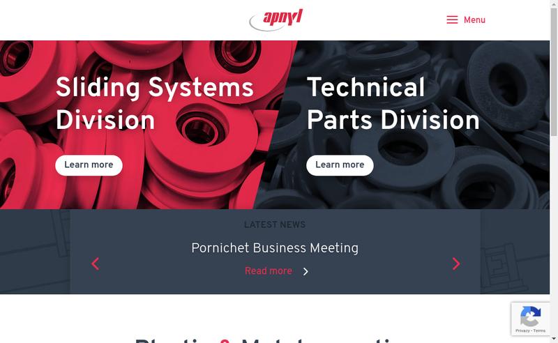 Capture d'écran du site de Apnyl SA