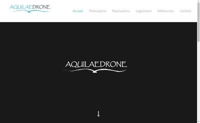Site internet de Aquilaedrone