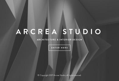Site internet de Arcrea Studio