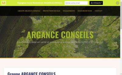 Site internet de Argance