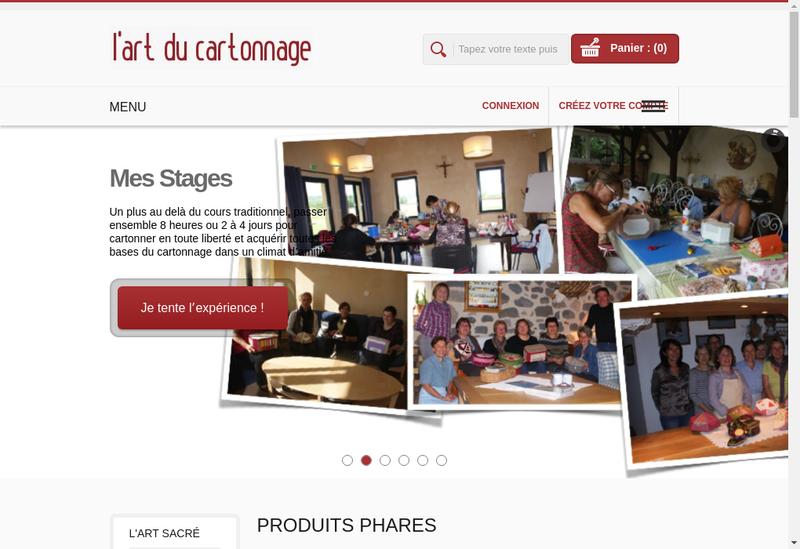 Capture d'écran du site de Dominique Augagneur