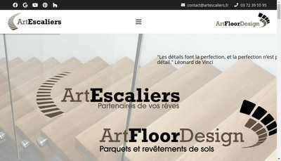 Site internet de Escaliers Kirner