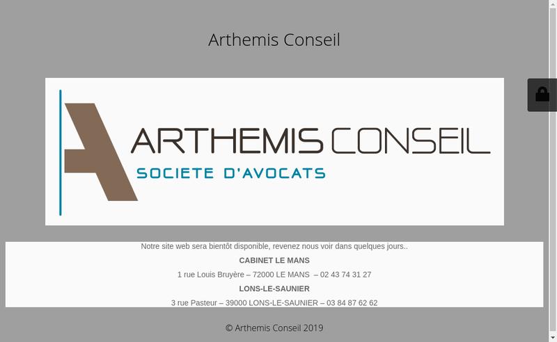 Capture d'écran du site de Guinot Avocats