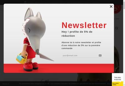 Site internet de Artoyz Com