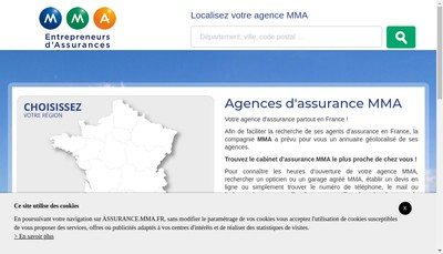 Site internet de SARL Paquet Assurances