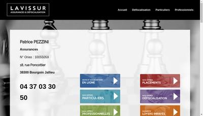 Site internet de Lavissur