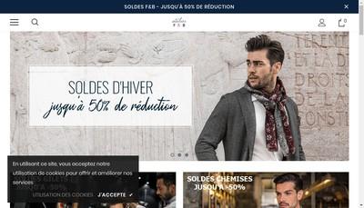 Site internet de Anthime Mouley France SAS