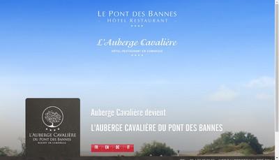 Site internet de Auberge Cavaliere
