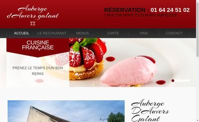 Site internet de Auberge d'Auvers Galant