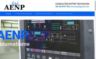 Site internet de Aenp - Automatisme Electricite Nicolas Perray