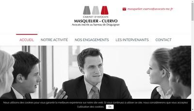 Site internet de Masquelier