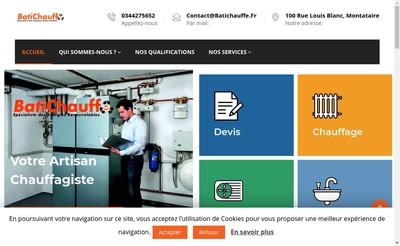 Site internet de Batichauffe