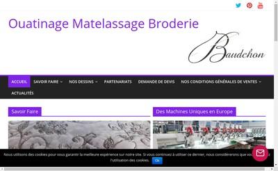 Site internet de Etablissements Baudchon