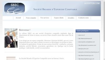 Site internet de Sbec