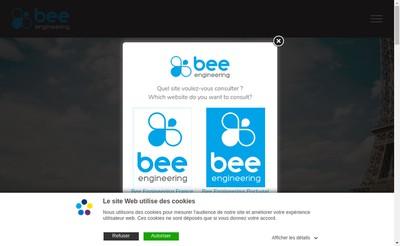 Site internet de Bee Engineering