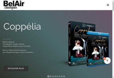 Site internet de Bel Air Classiques