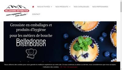 Site internet de SARL Belledonne Distribution