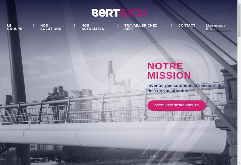Capture d'écran du site de Poirier Transports SAS