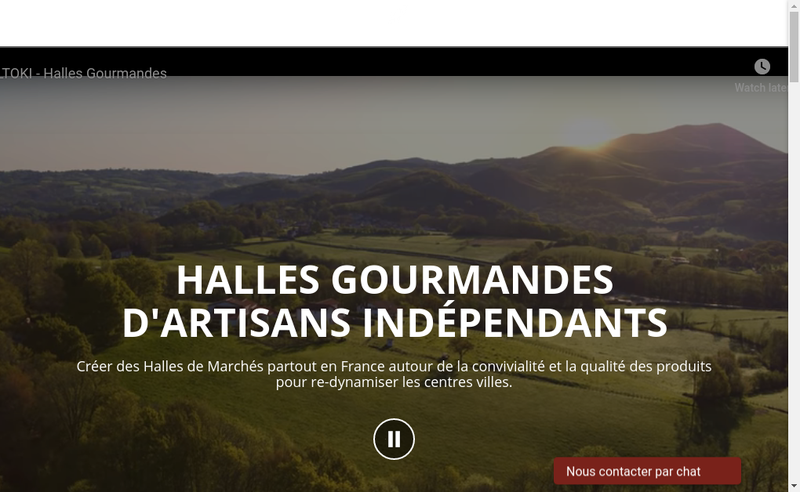 Capture d'écran du site de SAS Biltoki