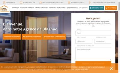 Site internet de La Maison des Travaux