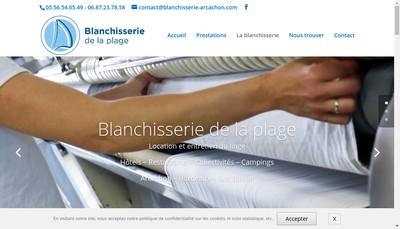 Site internet de Blanchisserie de la Plage
