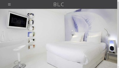Site internet de Blc Design Hotel