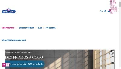 Site internet de Bleu Câlin