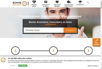 Site internet de Bonne Assurance