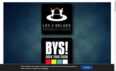 Site internet de Book Your Show