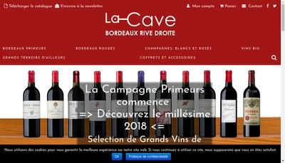 Site internet de Bordeaux Rive Droite