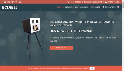 Site internet de Bc Label
