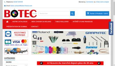 Site internet de Botec