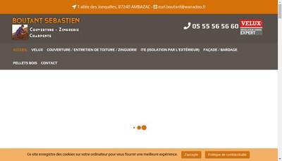 Site internet de Boutant Sebastien