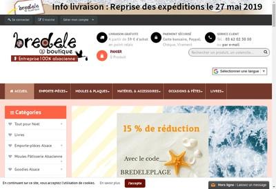 Site internet de Bredele.boutique