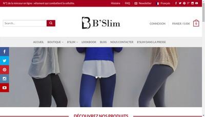 Site internet de B'Slim