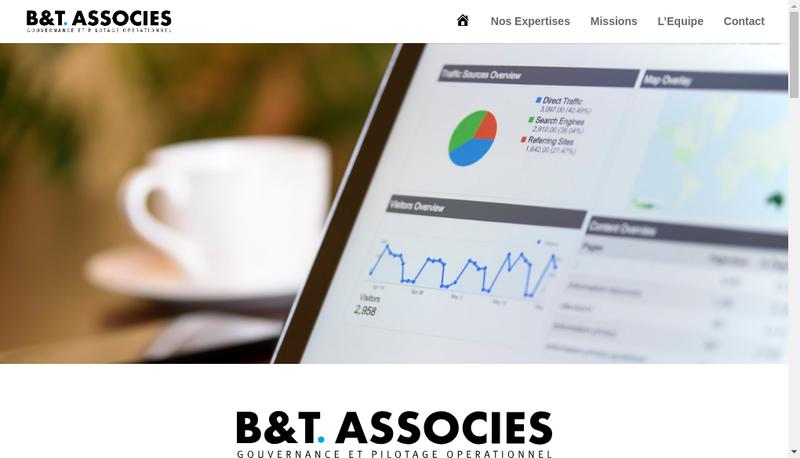 Capture d'écran du site de Ethics Associes