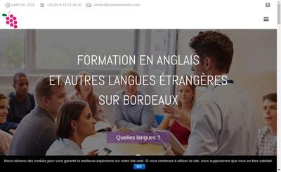 Site internet de Newdeal Institut