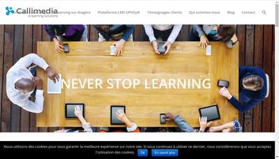 Site internet de Callimedia